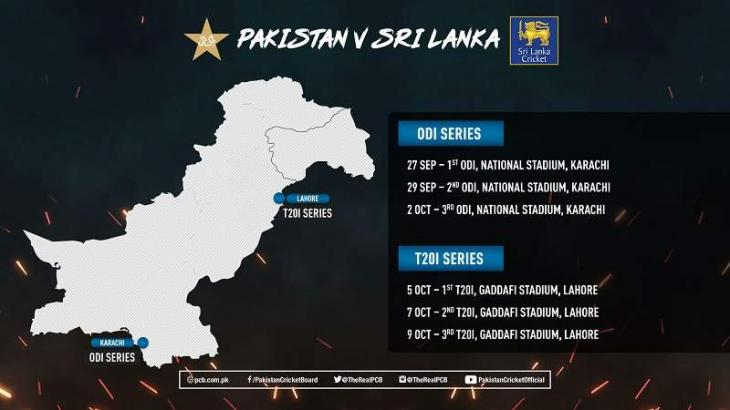 PCB and SLC announce schedule of upcoming matches