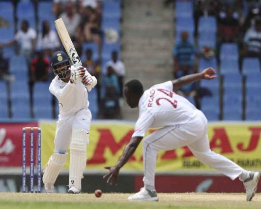 India dismissed for 297 in first Test