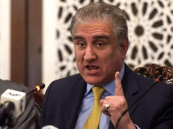 India's move in IOK entails grave risk for peace, security in region: Shah Mahmood Qureshi