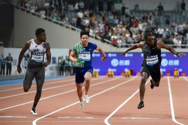Lyles 'shocked' by fellow sprinter Coleman's missed tests