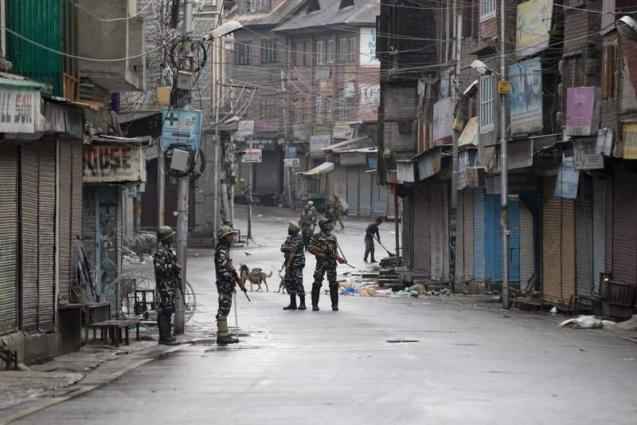 People defy curfew, hold demo in Srinagar