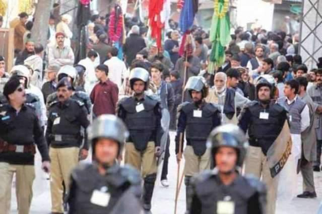 Security beefed up across AJK ahead of Muharramul Haraam
