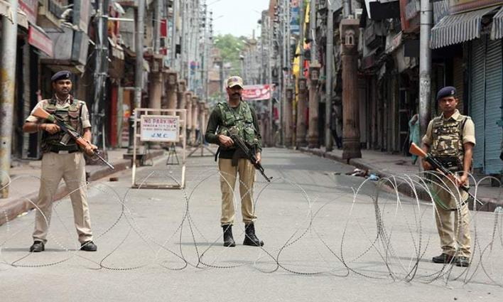 Journalist fraternity stage rally against lock down, media ban in IOK