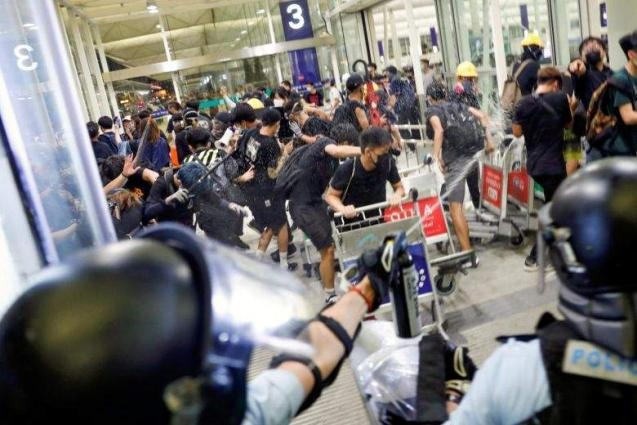 Int'l Federation of Journalists Condemns Attacks on Reporters During Hong Kong Protests
