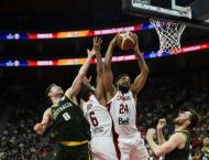 US launch Basketball World Cup title defence with comfortable win ..