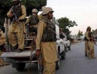 Levies force recovers snatched van in Dasht