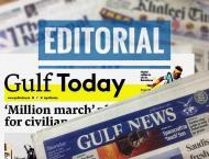 UAE Press: Sacrifice made by 45 Emirati martyrs in Yemen should n ..