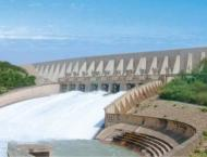 Water in second largest AJK-based reservoir rose to the level of  ..