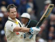 Australia's Smith marks Test comeback with Ashes century