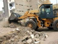 Encroachments removed from main gate of Qadamgah-e-Moula Ali