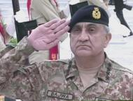 """We will not abandon our Kashmiri brethren"": Gen Bajwa"