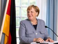 Merkel Says Trade Negotiations Between China, US Impact German Bu ..
