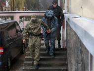 Vans Likely Transporting Ukrainian Servicemen Leave Lefortovo Det ..