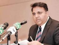 Minister for Science and Technology Chaudhry Fawad Hussain condol ..