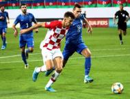 Croatia stumble in Euro qualifying with Azerbaijan draw