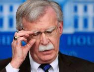 Outgoing US National Security Adviser John Bolton