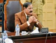 Speaker KP Assembly Mushtaq Ahmed Ghani , Info minister reach Pes ..