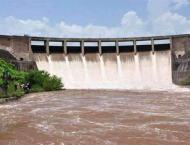 The Indus River System Authority (IRSA) releases 206,400 cusecs w ..