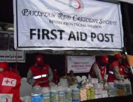 More than 1300 mourners provided with first aid in Sindh