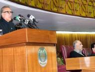 President urges world to wake up on Kashmir crisis; warns India t ..