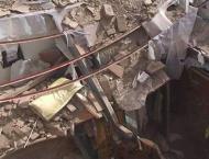 Four hurt as building collapses in Multan