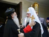Patriarch Kirill Congratulates European Head of Orthodox Archdioc ..