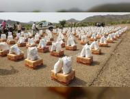 UAE continues sending relief convoys to Yemen