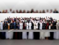 Mohamed bin Zayed receives participants of third session of  &#03 ..