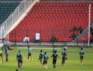National cricket team training camp begins in Lahore