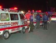 Three killed , two injured in accident in Islamabad