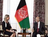 Mogherini Tells Ghani Election 'Needed More Than Ever' Amid Stall ..