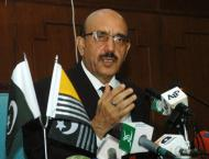 AJK President emphasizes need of unity for resolution of Muslim i ..