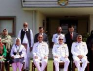 Naval Chief confers medals on outstanding students