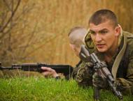 Self-Proclaimed Luhansk Republic in East Ukraine Boosts Security  ..