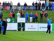 Pakistan pavilion set up at Paris Legend Golf Championship in Ver ..