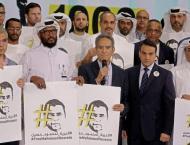 Al-Jazeera marks producer's 1,000 days in Egyptian jail