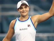Barty's number one spot under pressure from Pliskova