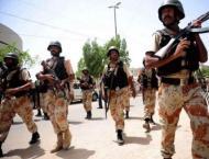 Rangers arrested six suspects in Karachi