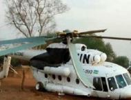UN peacekeeping helicopter crashes in C.Africa, 3 dead: UN force