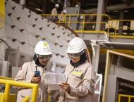 Production ramp-up at EGA's new Al Taweelah alumina refinery on ..