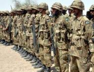 Recruitment as soldier in Pakistan Army to start from Oct. 15