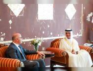 RAK Ruler receives Lebanese Ambassador