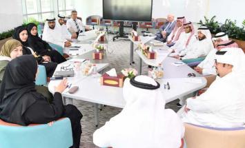 وفد سعودي يطلع على مشروعات وزارة تطوير ..