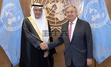 الأمین العام لأمم المتحدة أنطونیو غوتیریس ..