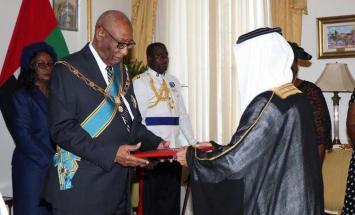 حاكم عام كومنولث جزر الباهاما يتسلم ..