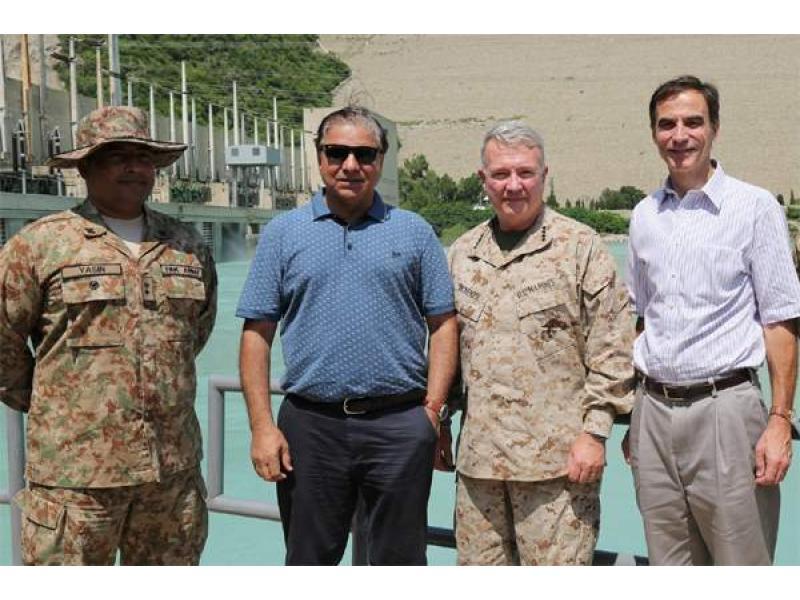 US CENTCOM Commander , US Ambassador Visits Tarbela Dam