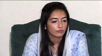 نجلة رئیسة الوزراء الباکستانیة السابقة بینظیر بھتو تدین انتھاکات الحقوق الانسانیة في کشمیر المحتلة