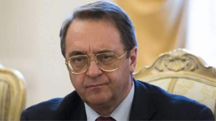 Russia's Bogdanov Discusses Middle East Settlement With UAE Foreign Minister - Moscow