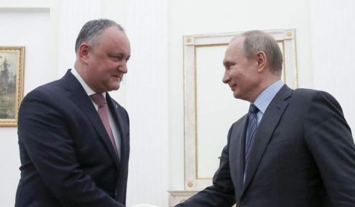Russian President to Meet With Moldovan Counterpart on Saturday - Press Service
