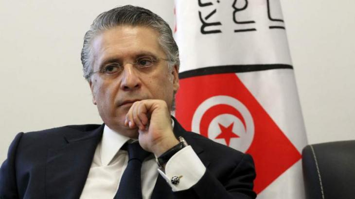 Tunisian Presidential Candidate Karoui Will Not Quit Race Despite Arrest - Spokesman